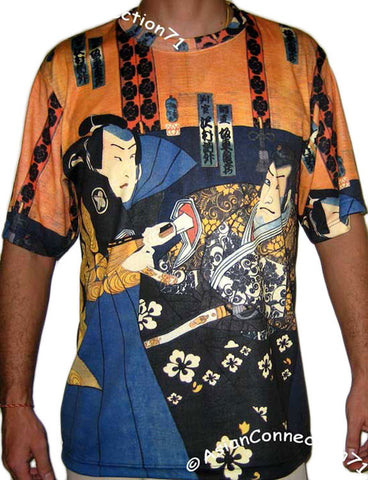 SHARAKU Japan Ukiyoe Samurai Japanese Art Print PN Short Sleeve T Shirt Mens M L XL