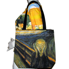 SCREAM New Edvard Munch Art Print Bag Sling Purse Messenger Tote Small S by P&N