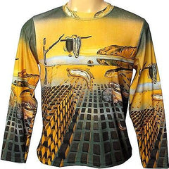 Salvador Dali DISINTEGRATION OF MEMORY Long Sleeve PN Art Print T Shirt Mens XL