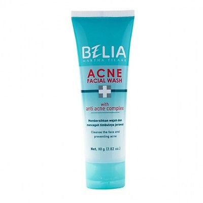 SariAyu/Belia Intensive Acne Care Powder/Gel/Face Wash - Acne Treatment - HappyGreenStore