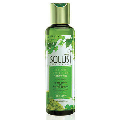 Sariayu Solusi Organic Face Tonic/Cleanser/Serum - ORGANIC Revolution for FACIAL - HappyGreenStore