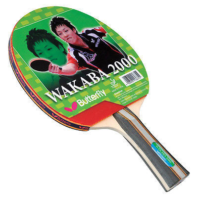 Butterfly Wakaba/Addoy/Timo Boll 2000 FL Shakehand Table Tennis Racket Paddle - HappyGreenStore