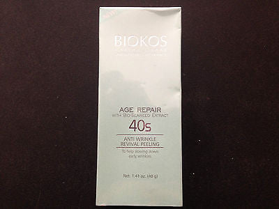 BIOKOS Age Repair Anti Wrinkle Moisturizing/Night Cream/peeling/Mask w/ Collagen - HappyGreenStore