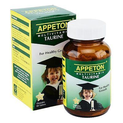 Appeton Multivitamin Taurine Promote Brain Eye Development