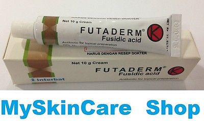 FUTADERM FUSIDIC ACID Anti Bacterial Cream FOR Bacteria Skin Infection SALE GO! - HappyGreenStore