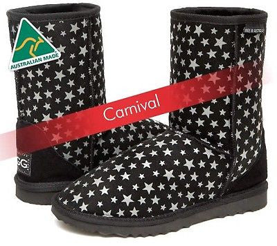 Classic Short Deluxe UggBoots Bold Carnival Colors Ugg Boots - Made In Australia - HappyGreenStore