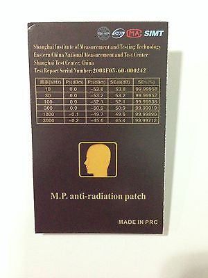 Anti Electromagnetic Patch Absorb Radiation/Battery Extender For Phone/tablet - HappyGreenStore