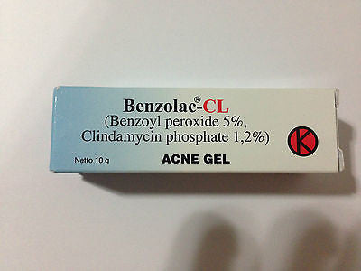 Benzolac CL Benzoyl Peroxide Clindamycin FOR Acne/Pimples/Acne Feldin Sulfur