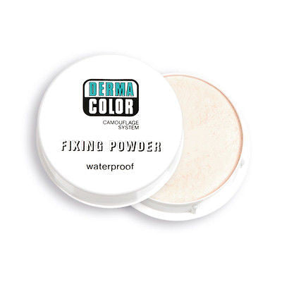 GENUINE KRYOLAN 60 gr FIXING POWDER DERMA COLOR - Waterproof Camouflage System - HappyGreenStore