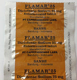 Flamar Tablets/Eye Drops For Post Surgery Inflammation/Rheumatoid/Osteoarthritis - HappyGreenStore