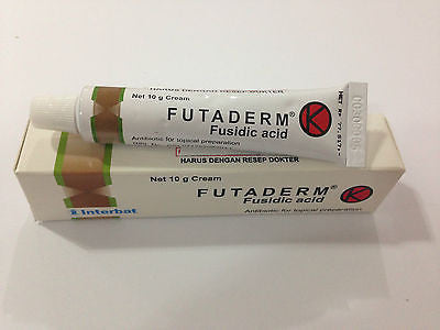 Futaderm Fusidic Acid Anti Bacterial Cream/Ointment FOR Bacteria Skin Infection - HappyGreenStore