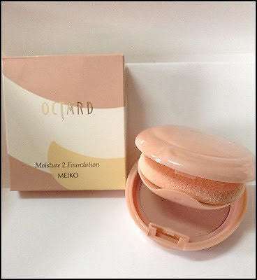 100% Authentic OCTARD MEIKO Moisture 2 Foundation 12g - Make Up Made in Japan - HappyGreenStore