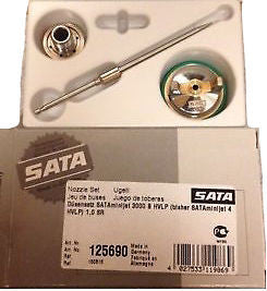 BRAND NEW Nozzle Set for SATA Mini Jet 3000 B HVLP in 0.8/1.0mm or SR Model in 1.2mm - HappyGreenStore