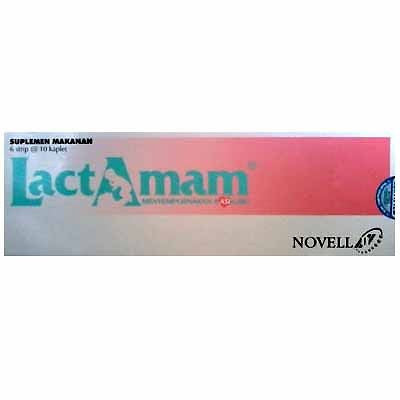 Lactamam Supplement Tablet Vitamin + Minerals for lactating Mother/Breastfeeding - HappyGreenStore