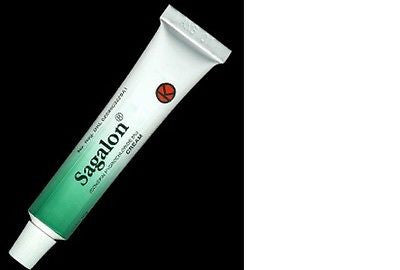 Sagalon Anti Pruritic Cream Atopic Dermatitis/Lichen Simplex Chronicus/Eczema - HappyGreenStore