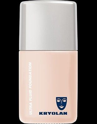 Kryolan Ultra Fluid Foundation 1 fl oz/30 ml Wedding/Theatrical/Stage Pro Makeup - HappyGreenStore