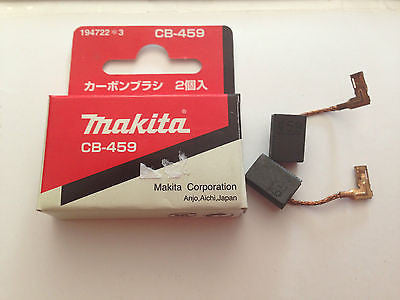 MAKITA 100% GENUINE CARBON BRUSH CB-459 TO SUIT MAKTEC MT90/MT870/GA4034/GA4030 - HappyGreenStore