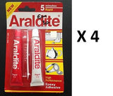 Genuine New Araldite AB High Performance Epoxy Adhesive Glue - 5 Minutes Rapid) - HappyGreenStore