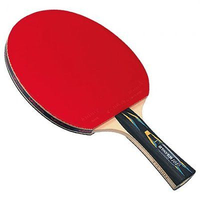 Butterfly Stayer 101 Table Tennis Racket Paddle Bat Racquet with Addoy Rubbers - HappyGreenStore