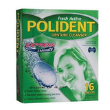 POLIDENT FALSE TEETH GLUE/ADHESIVE 5 MINUTE OR POLIDENT DENTURE CLEANER - GSK - HappyGreenStore