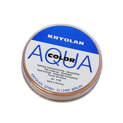 Kryolan Aquacolor 55 mL - compact powder for Professional Make-up Artist Film - HappyGreenStore