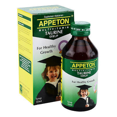 Appeton Multivitamin Taurine Promote Brain/Eye Development - Increase Cognition - HappyGreenStore