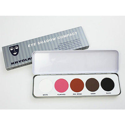 KRYOLAN EYE SHADOW PALLETTE - 5 COLORS PALLETTES - LONG LASTING EYE SHADOWS - HappyGreenStore