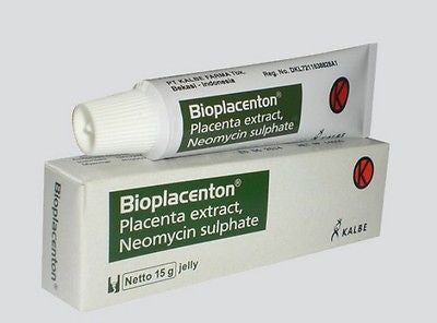 Bioplacenton Gel for eczema/impetigo/boils/ulcer or Bioplacenton Tulle for burns - HappyGreenStore