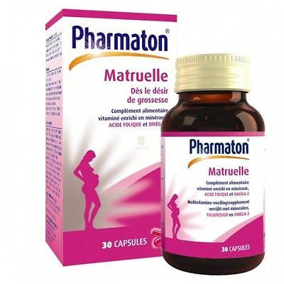 Kiddi Pharmaton/Pharmaton Matruelle - Supplement for Pregnancy/Lactating/Infant - HappyGreenStore