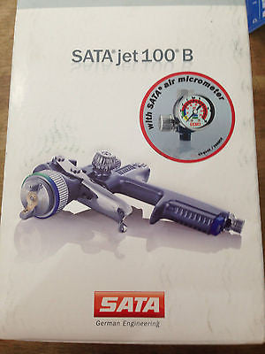 SATAjet 100 B F RP 1.4 mm nozzle + SATA air micrometer for EPOXY Made in Germany - HappyGreenStore