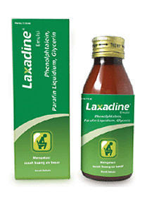 Laxadine Emulsion - Liquid Laxative soften and smoothen stool - For Constipation - HappyGreenStore