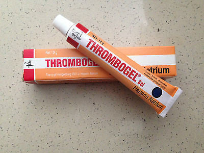 Thrombogel/Thrombophob Gel Heparin Sodium For Bruises,Thrombosis - Anticoagulant - HappyGreenStore