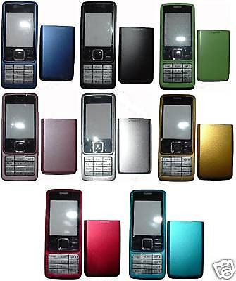 1X Nokia 6300 COVER Faceplate Housing Fascias +Keypad - HappyGreenStore