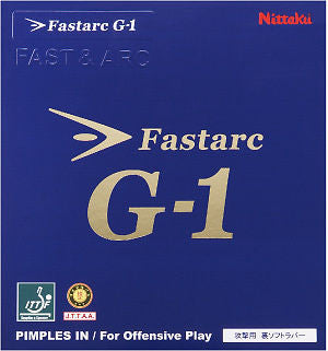 Nittaku Fast Arc Fastarc G-1 G1 Rubber Table Tennis - HappyGreenStore