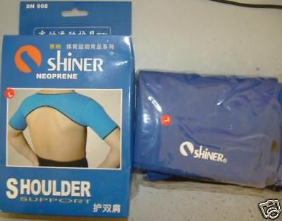 New Shiner stretchable 2 double shoulder support brace - HappyGreenStore