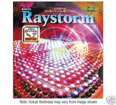 New Butterfly Raystorm rubber Table tennis Ping Pong - HappyGreenStore