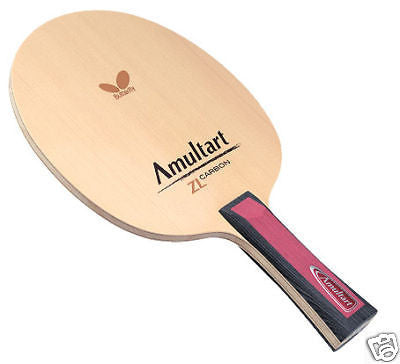 Butterfly Amultart ZL- Carbon Blade table tennis ping pong No Rubber - HappyGreenStore