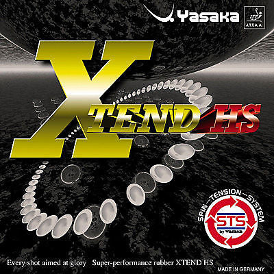 Genuine Yasaka XTend HS or XTend LB Rubber table tennis ping pong - HappyGreenStore