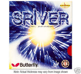 Butterfly sriver rubber Table tennis ping pong blade - HappyGreenStore