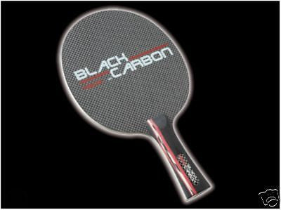 Tibhar Black Carbon blade table tennis ping pong rubber - HappyGreenStore