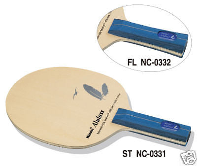 Nittaku A1 Ras Alulass blade table tennis racket rubber - HappyGreenStore