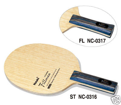 NEW Nittaku Fillmea blade table tennis racket rubber - HappyGreenStore