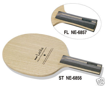 Nittaku Ratika Latika blade table tennis racket rubber - HappyGreenStore