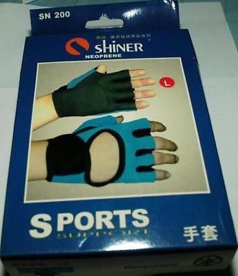 Shiner Neoprene Gloves Sports support brace weight lift - HappyGreenStore