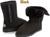 Breezer Boot with zip UggBoots Ugg Boots -12 colors to choose.Made in Australia - HappyGreenStore