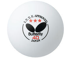 Butterfly 3 stars Premium Table Tennis Ball 40 mm Blade - HappyGreenStore