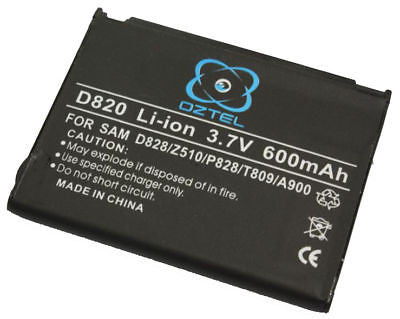 1 X New Samsung D820 X468 D828 battery + 1 Year warraty - HappyGreenStore