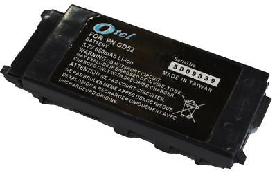 1 X NEW Panasonic GD52 GD35 GD87 X60 Battery + 1 year Warranty OZtel - HappyGreenStore