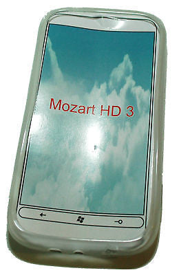 TPU Cover Soft Gel Skin case HTC Mozart HD3 HD 3 OZtel - HappyGreenStore