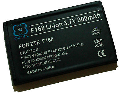 Telstra ZTE F168 168 battery Next G +1 yr warranty - HappyGreenStore